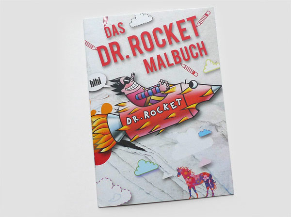 Dr. Rocket Malbuch, Thomas Paschke
